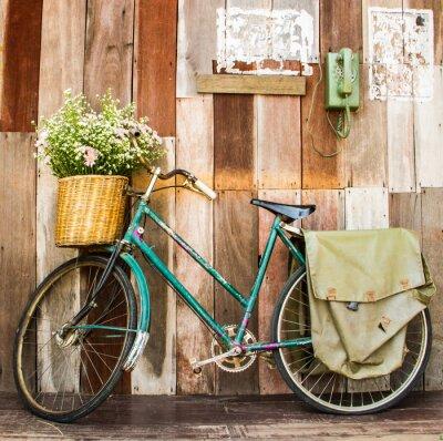 Image bicyclette vintage