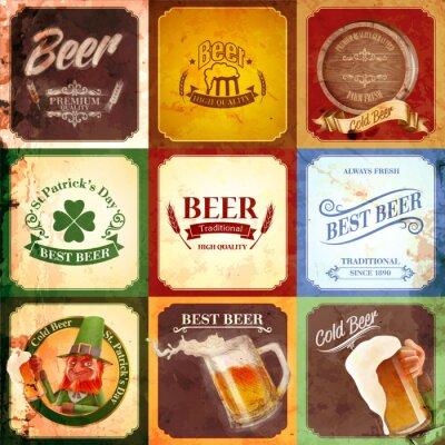 Image bière bannière millésime
