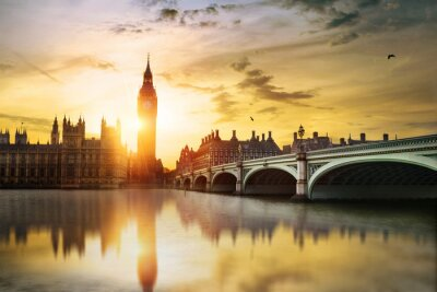 Image Big Ben et des Chambres du Parlement