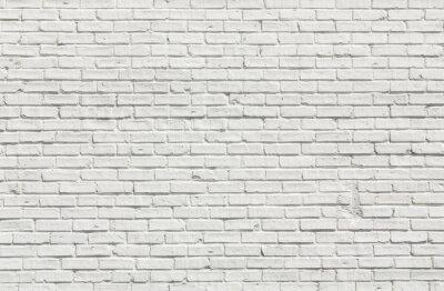 Image Blanc mur de briques
