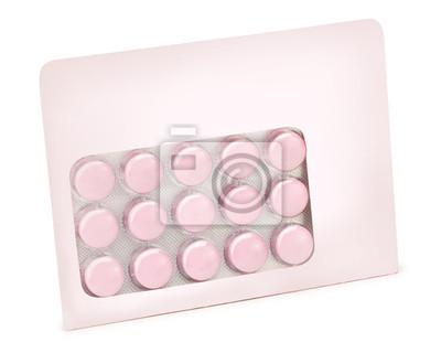 blister isolé de médicaments