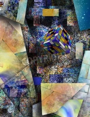 Image Blocages dans l'art abstrait