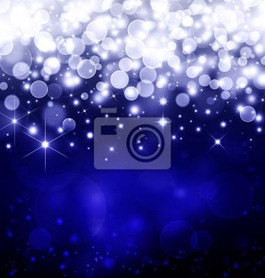 blue fantasy, fond d'étoiles