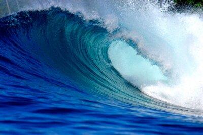 Image Blue ocean surf vague