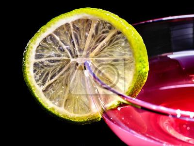 boisson au citron vert grenade 75