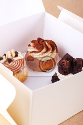 boîte de gâteau
