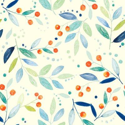 Image Botanique, seamless, modèle