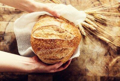 Image Boulanger, tenue, pain, rurale, bacgkround