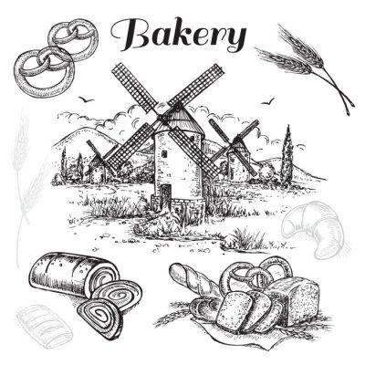Image Boulangerie à la main