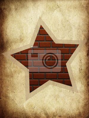 Brique étoiles
