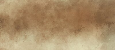 Image Brown background with grunge texture, watercolor painted mottled brown background with vintage marbled textured design on cloudy sepia brown banner, distressed old antique parchment paper