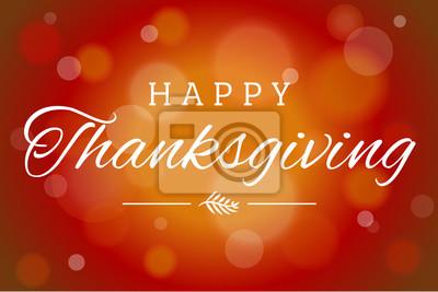 Image Brown Soft Focus Happy Thanksgiving vecteur fond horizontal 1