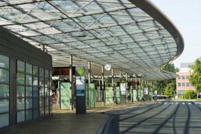 Image Busbahnhof à Herne, NRW, Deutschland