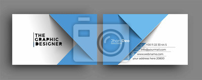 Image Business Card - Creative and Clean Modern Business Card Template.