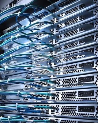 câble et serveurs