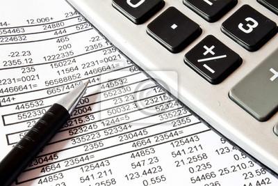 Calculs, concept de comptabilité