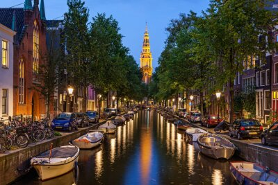 Image Canaux d'Amsterdam