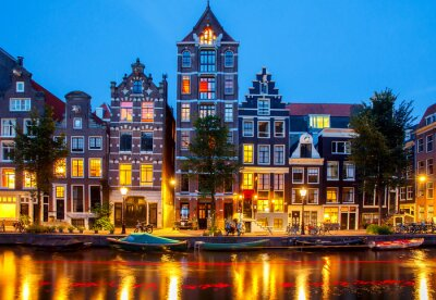Image Canaux d'Amsterdam.