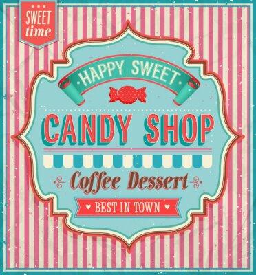 Image Candy shop - illustration vectorielle