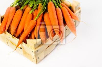 carottes dans une boîte