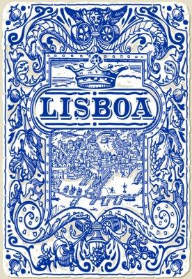 Image Carreaux traditionnels Azulejos Lisboa, Portugal