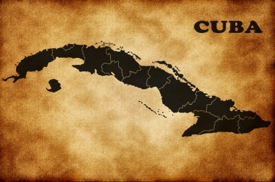 Image Carte de Cuba
