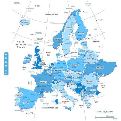 Image Carte Europe Ville de