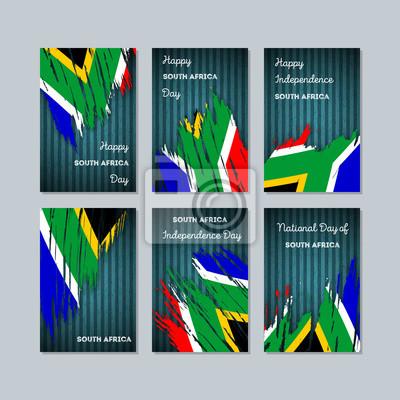 Carte De Fete Afrique.Image Cartes Patriotiques Dafrique Du Sud Pour La Fete Nationale