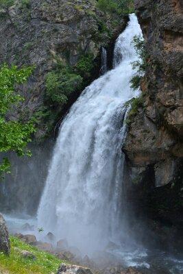 Image Cascade, suivant, élevé, falaise