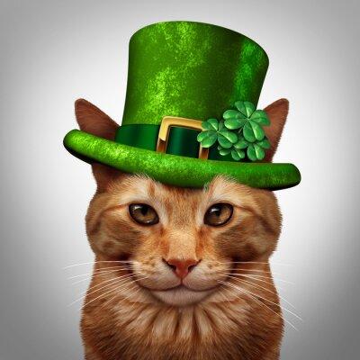 Image Cat Saint Patricks Day