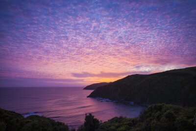 Image Catlins Nugget Point Nouvelle-Zélande soir