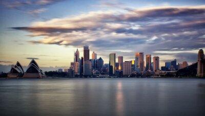 Image Centre-ville de Sydney au lever du soleil