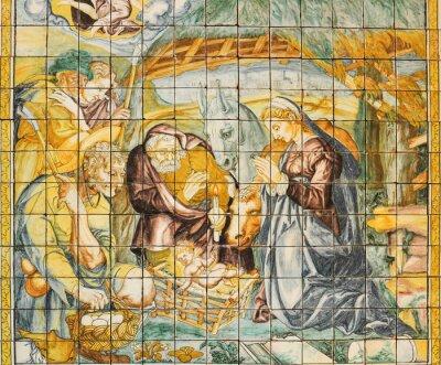 Image Céramique religieux, Nativité, Lisbonne, Portugal