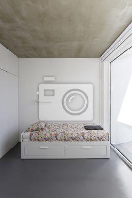 Chambre Dans Maison Moderne De Vacances Peintures Murales Tableaux