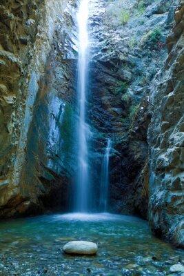 Image Chantara Cascades dans les montagnes Trodos, Chypre