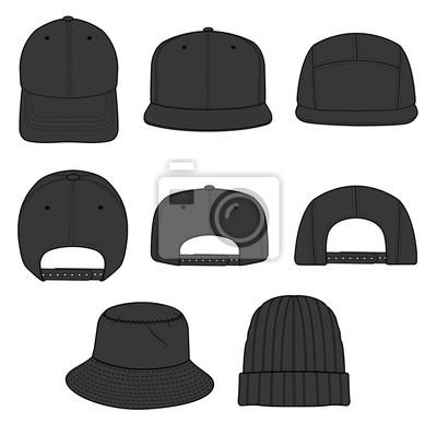 Pré-commander grande remise de 2019 quantité limitée Image: Chapeau bonnet conception illustration croquis plat modèle