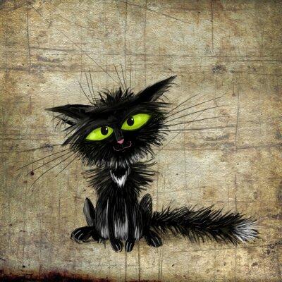 Image Chat noir