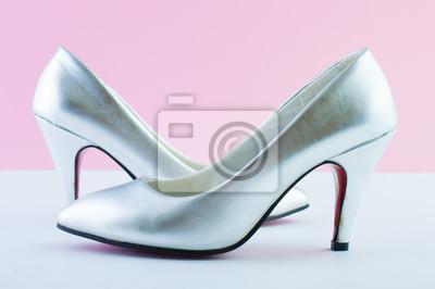 Chaussures femme brillant