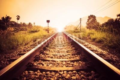 Image chemin de fer cru
