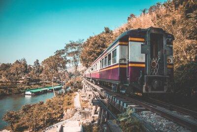 Image Chemin de fer de la mort à Kanchanaburi, Thaïlande