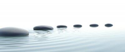 Image Chemin de zen de pierres sur grand écran
