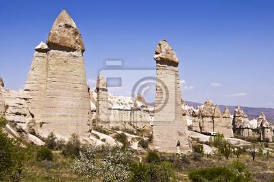 Cheminees De Fees Dans La Vallee De Lamour Cappadoce Turquie