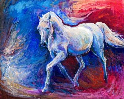 Image Cheval bleu