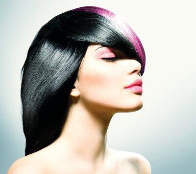 Image Cheveux de mode. Coiffure