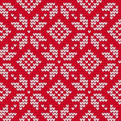 Image Christmas pattern tricot