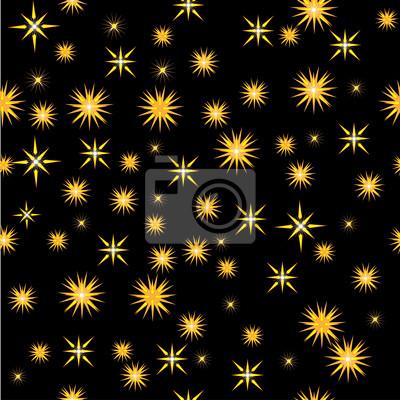 ciel de la nuit avec les étoiles lumineuses