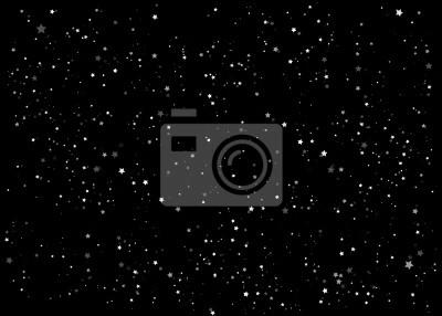 ciel de nuit avec de nombreuses stars