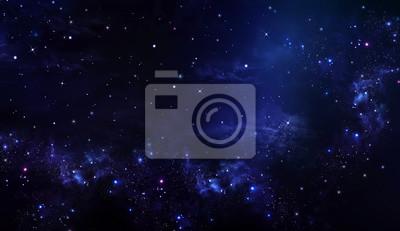 ciel étoilé de l'espace profond