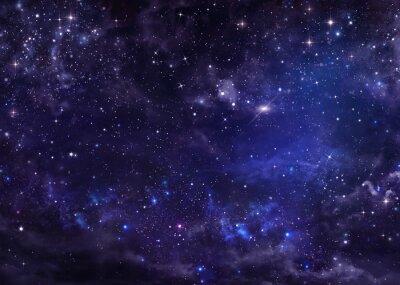 Image Ciel étoilé espace aérien profond