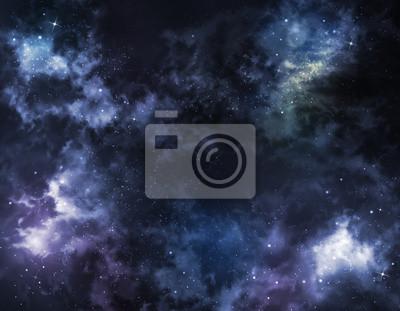 ciel étoilé espace intersidéral